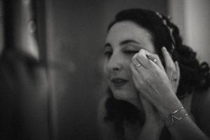 Photographe mariage maquillage de la mariée