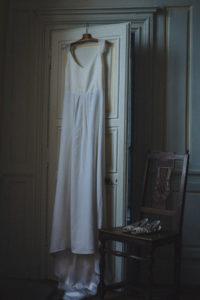 Photographe mariage robe de la mariée