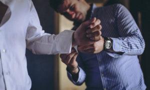 Photographe mariage préparatif du marié