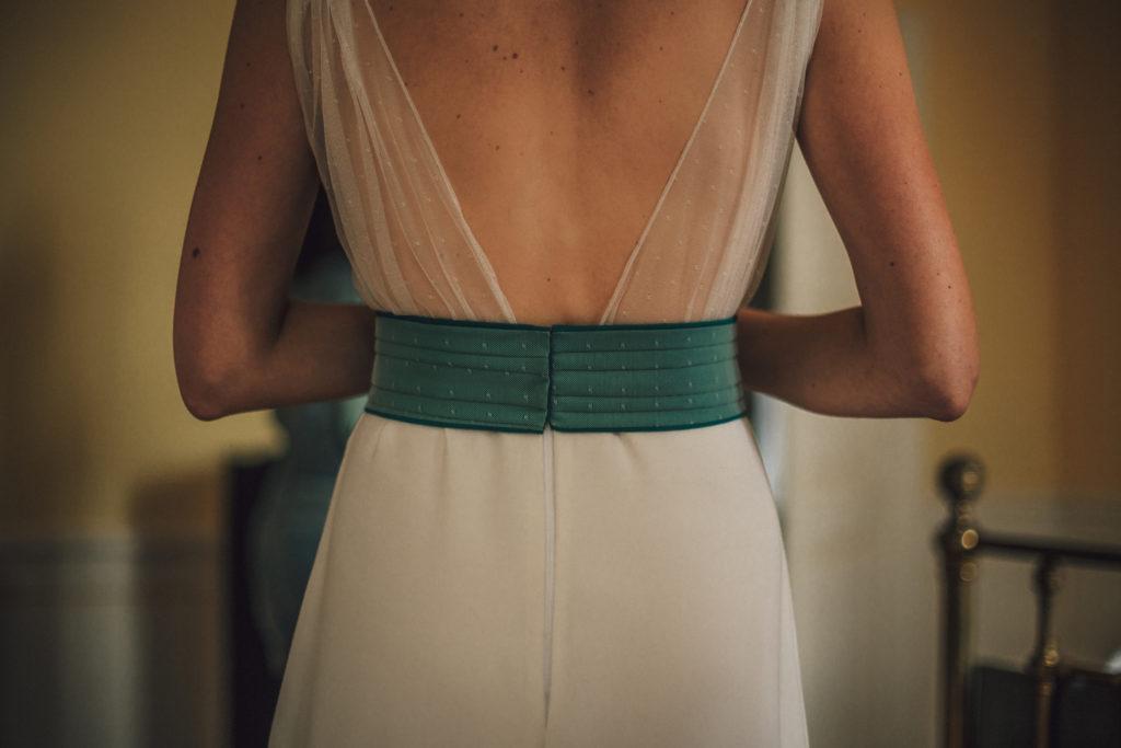 Photographe mariage Sarthe - robe de mariée