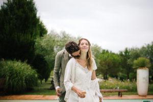 photo de couple mariage Gers